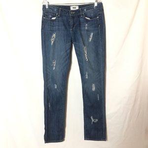 Paige Jimmy Jimmy Skinny distressed jeans